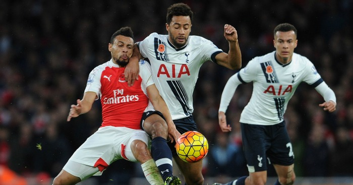 Francis Coquelin: Outmuscled by Mousa Dembele