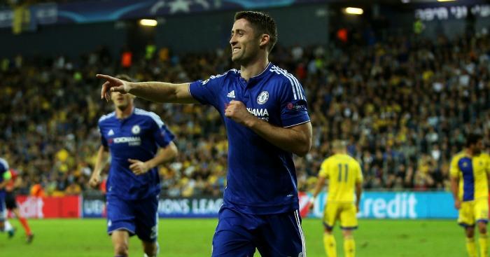 Gary Cahill: Put Chelsea ahead against Maccabi Tel Aviv