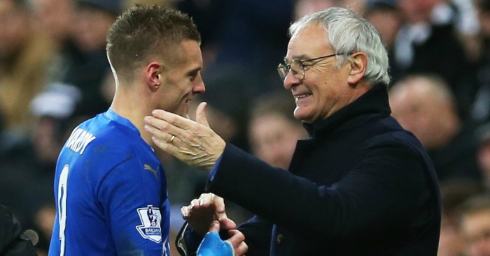 Claudio Ranieri and Jamie Vardy: Scoop November prizes