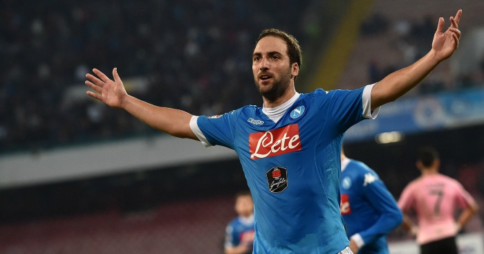 Gonzalo Higuain: Gunners receive boost in striker hunt
