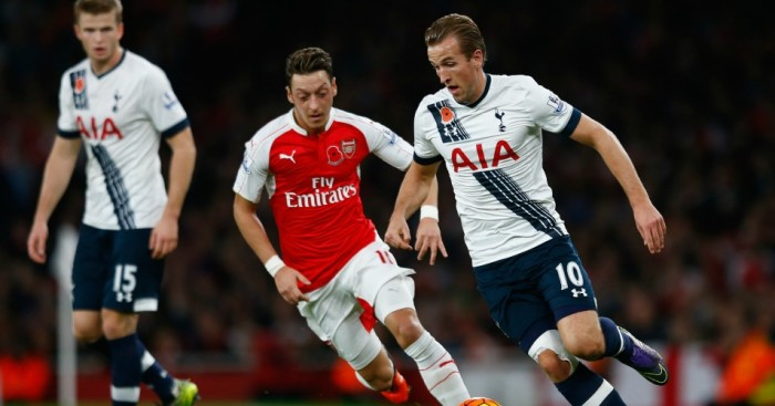 Harry Kane: Striker scored the opener in the North London derby