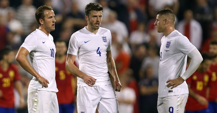 Harry Kane, Michael Carrick, Ross Barkley: Not rated highly by papers