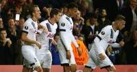 Tottenham: Celebrate Harry Kane's opener against Anderlecht