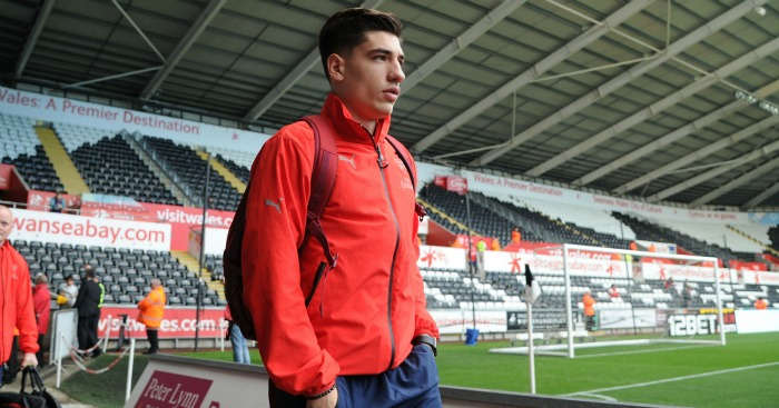 Hector Bellerin: Linked with Man City switch