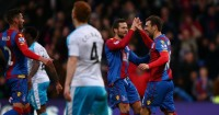 Jack Colback: Looks on as Crystal Palace celebrate