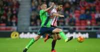 James Ward-Prowse: Midfielder tussles with Jordi Gomez