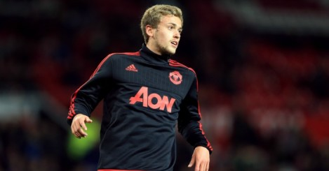 James Wilson: Manchester United striker loaned to Brighton