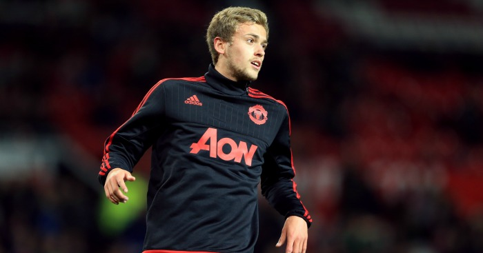 James Wilson: Manchester United striker loaned to Brighton