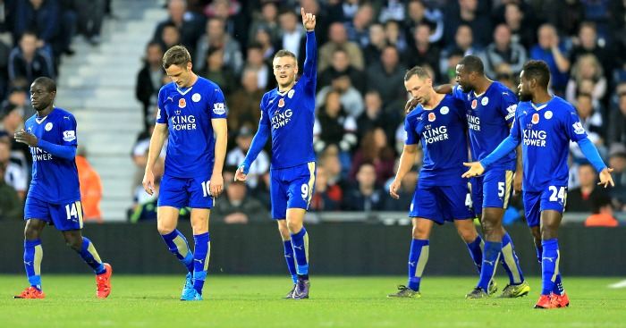 Jamie Vardy: Passed fit for Leicester City's clash with Watford