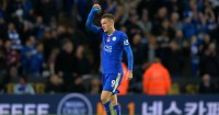 Jamie Vardy: Will continue for Leicester City against Manchester United