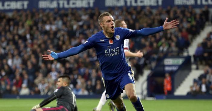 Jamie Vardy: Striker top goalscorer in Premier League