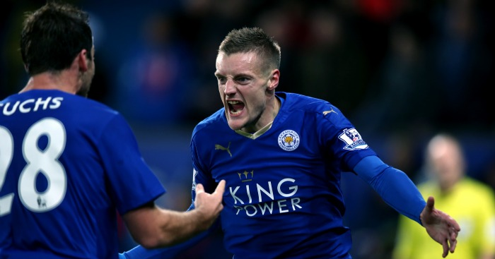 Jamie Vardy: Leicester City striker did not party after record-breaking goal