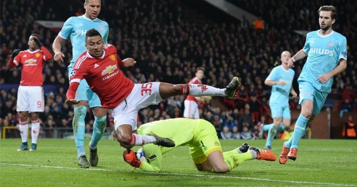 Jesse Lingard Manchester United v PSV TEAMtalk