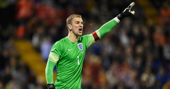Joe Hart: Captained England against France on Tuesday