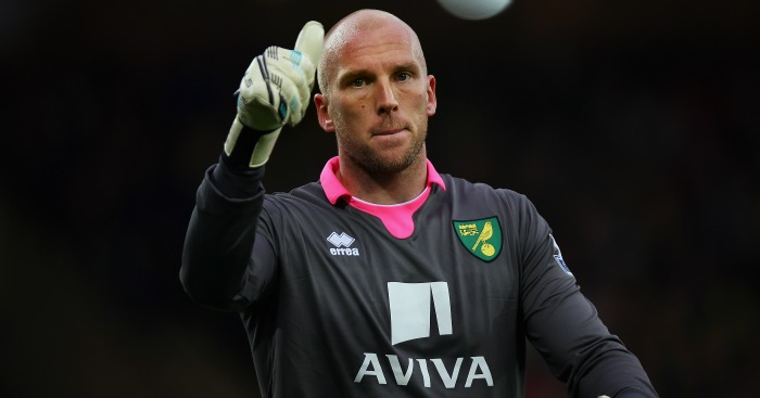 John Ruddy: Has lost his place in the side