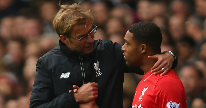 Jordon Ibe: Enjoys getting guidance from Jurgen Klopp