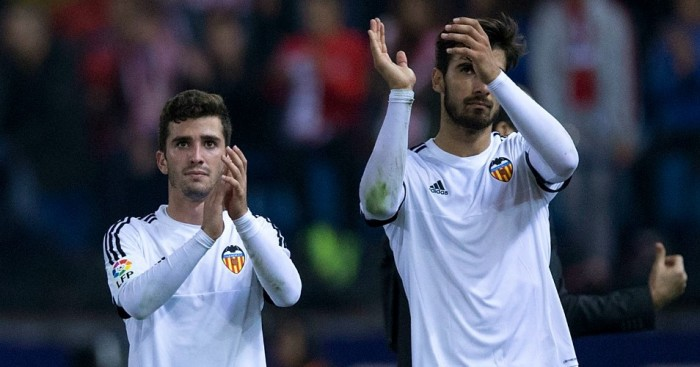 Jose Gaya and Andre Gomes: Linked with United moves