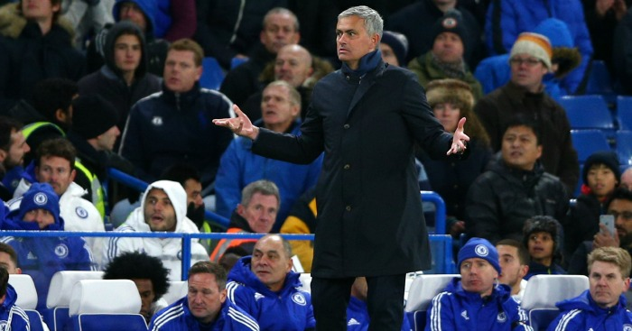 Jose Mourinho: Still in charge at Chelsea