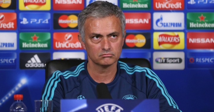 Jose Mourinho: At today's press conference