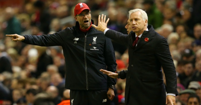 Alan Pardew: Claimed Klopp is 'exuberant'