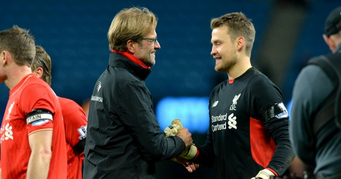 Simon Mignolet: Backed once again by Jurgen Klopp