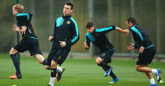 Laurent Koscielny: 80 per cent chance of featuring for Arsenal