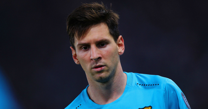 Lionel Messi: Has a chance to return in El Clasico