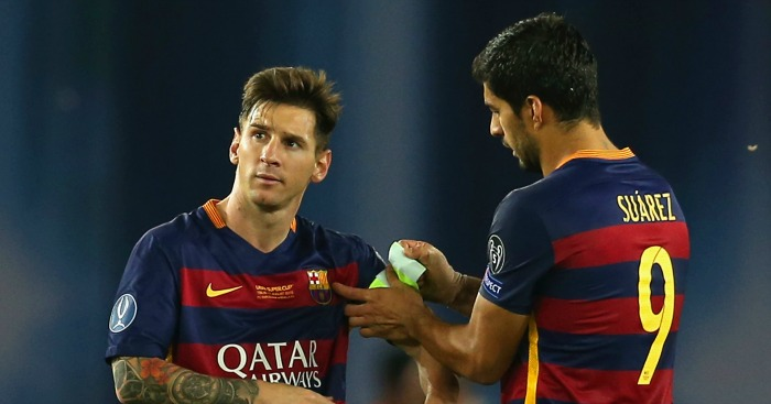 Lionel Messi: Feels Luis Suarez should have made top three