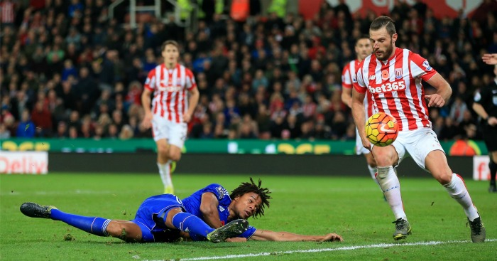 Loic Remy: Stumbled after hurdling Jack Butland challenge