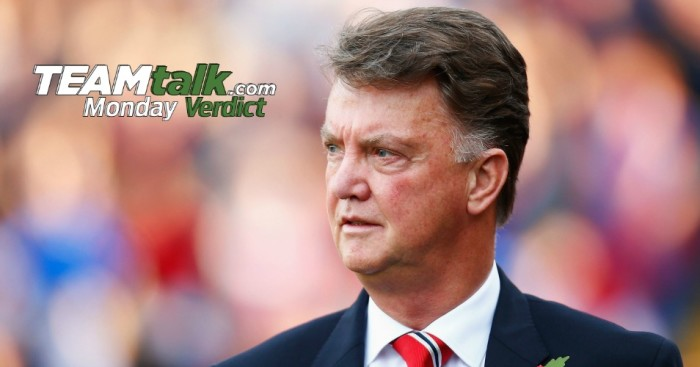 Louis van Gaal: No excuse for Manchester United performances