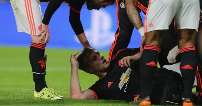 Luke Shaw: Left-back still hopes to play again this season