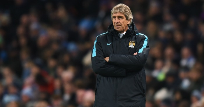 Manuel Pellegrini: Believes Leicester City may have title advantage