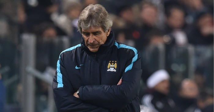 Manuel Pellegrini: Felt Manchester City deserved more at Juventus