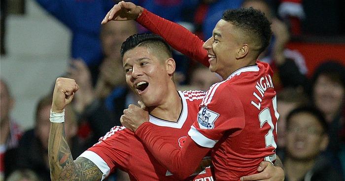Marcos Rojo Jesse Lingard Manchester United TEAMtalk