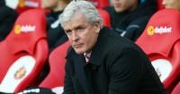 Mark Hughes: Stoke boss pondering his weekend line-up