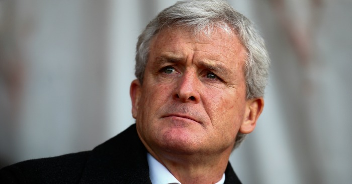 Mark Hughes: Stoke face Wednesday in quarter-finals