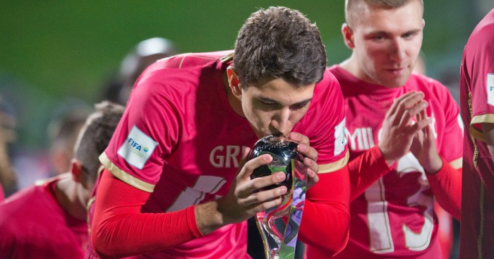 Marko Grujic: Red Star Belgrade midfielder wanted by Chelsea