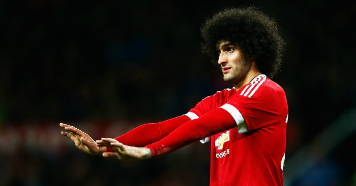 Marouane Fellaini: Manchester United could sell midfielder