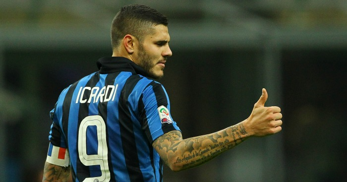 Mauro Icardi: Linked with Arsenal & Liverpool moves