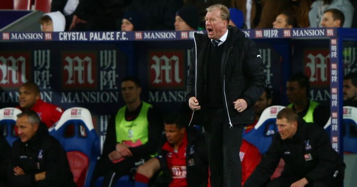 Steve McClaren: Feeling the heat