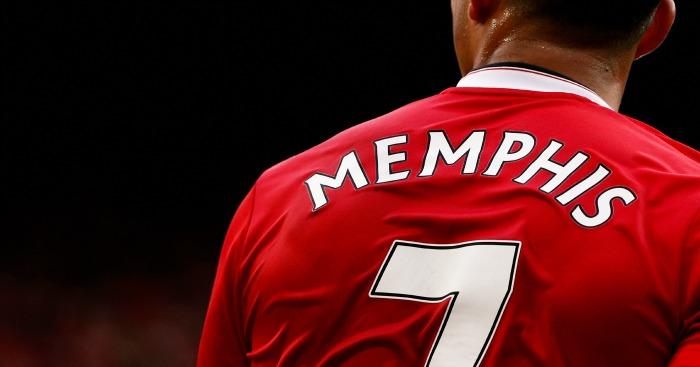 Memphis Depay shirt number