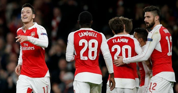 Mesut Ozil: Put Arsenal ahead against Dinamo Zagreb