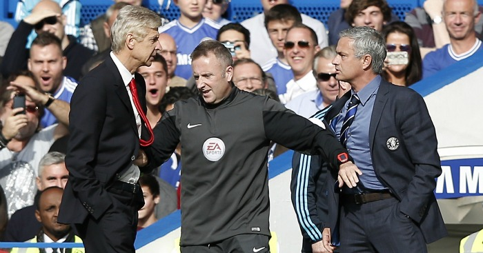 Jose Mourinho: Manager had many public spats with Arsene Wenger