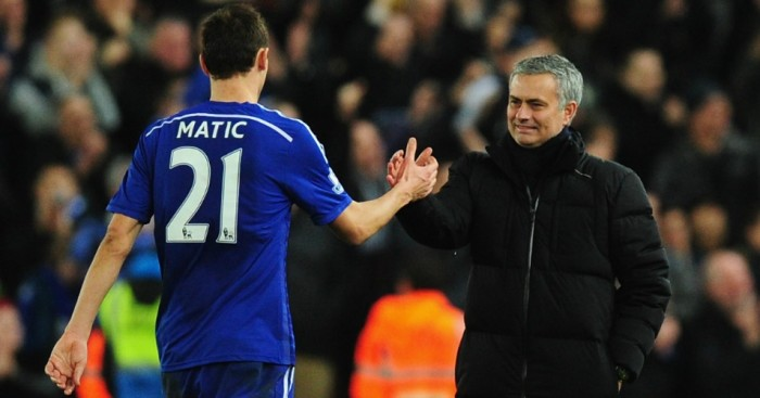 Nemanja Matic Jose Mourinho Chelsea TEAMtalk