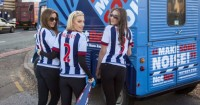 West Brom NetBet girls: Ready to make some noise