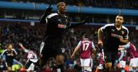 Odion Ighalo: Celebrates Watford's opener at Villa