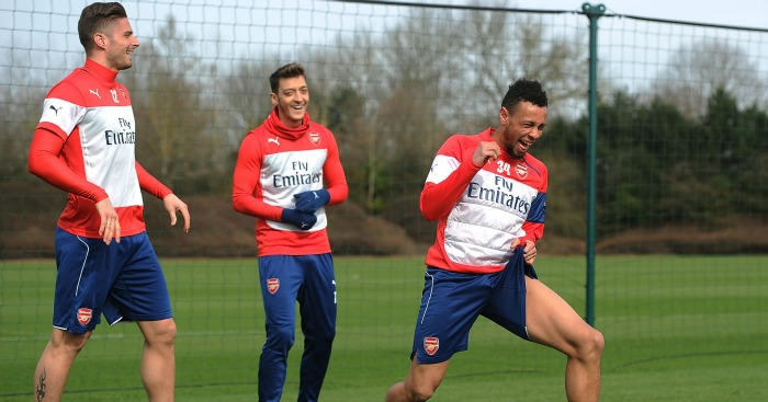 Mesut Ozil and Francis Coquelin: Equally important to Arsenal, says Martin Keown