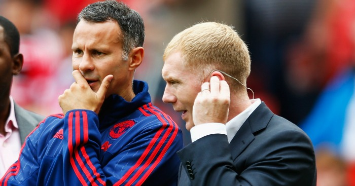 Paul Scholes Ryan Giggs Manchester United