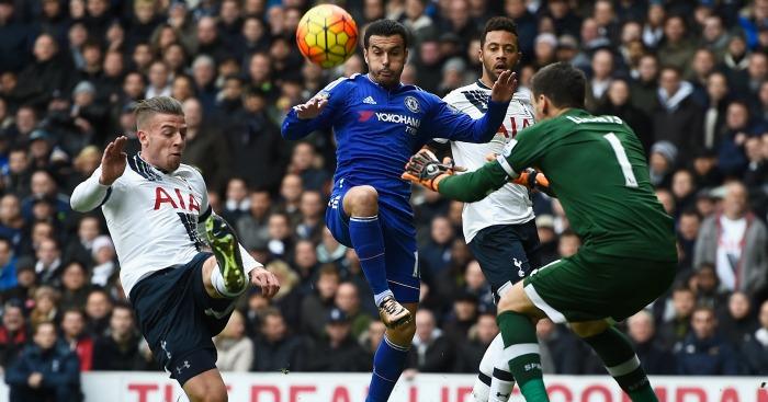 Pedro: Unable to find way past Tottenham goalkeeper Hugo Lloris