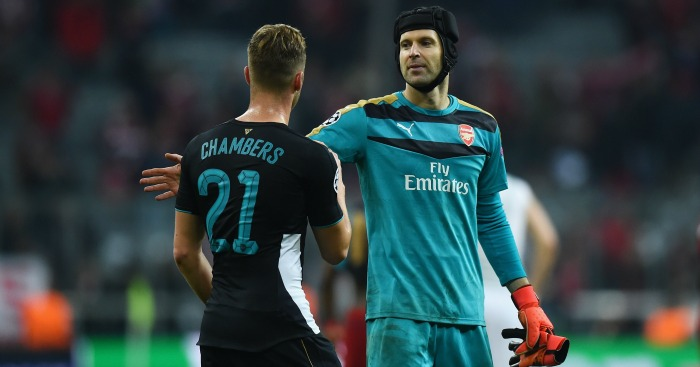 Petr Cech: Says Arsenal will qualify
